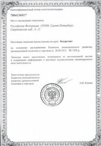Лицензия - Заготовка ломов 2