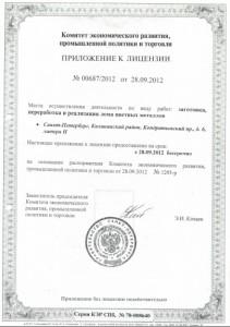 Лицензия - Заготовка ломов 3
